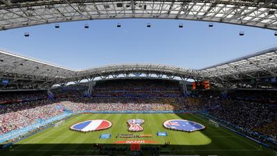 En fotos: Francia derrotó por 2-1 a Australia con protagonismo de la tecnología