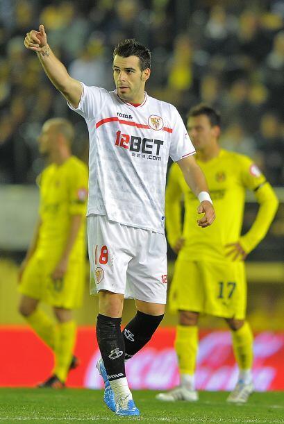 Pero Alvaro Negredo respondió con dos tantos. El primero para el 2-1 y d...
