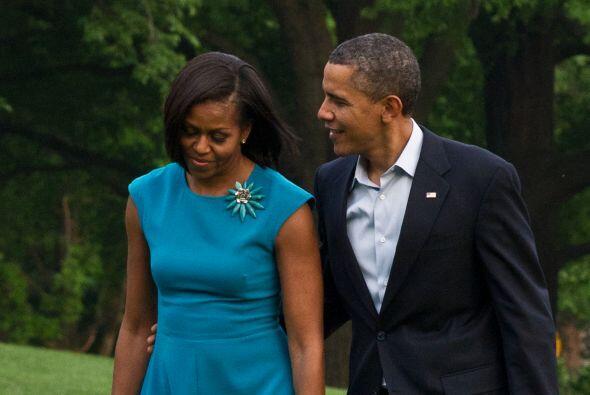 Para Barack fue amor a primera vista. Todo el verano le insistió...