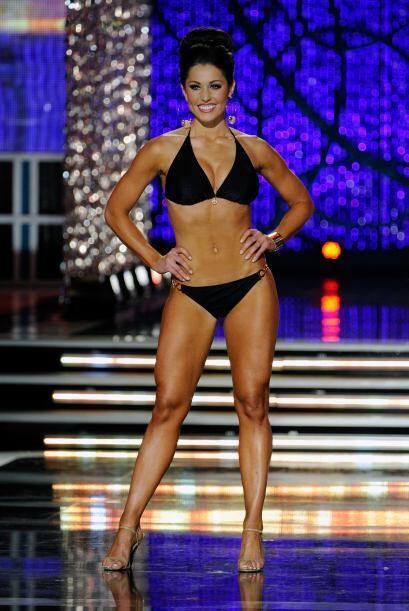 Miss Illinois, Megan Ervin también fue una de las reinas que impactó con...