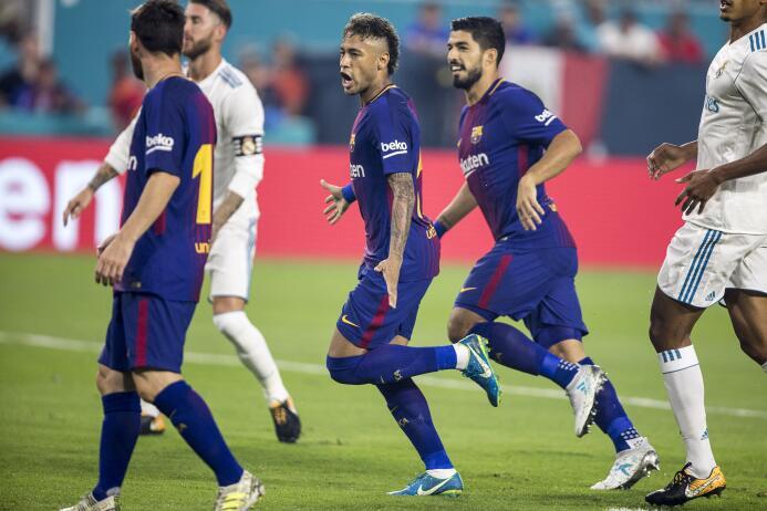 Los últimos momentos de Neymar como jugador de Barcelona 636369874741103...
