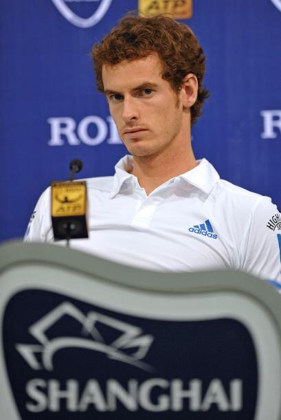 Número 4: El atractivo Andy Murray permanece en la cuarta posici&...