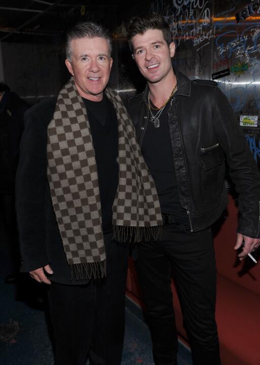 Alan y Robin Thicke