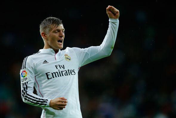 Kroos, que costó 30 millones al Real Madrid, ha jugado el 96 por ciento...