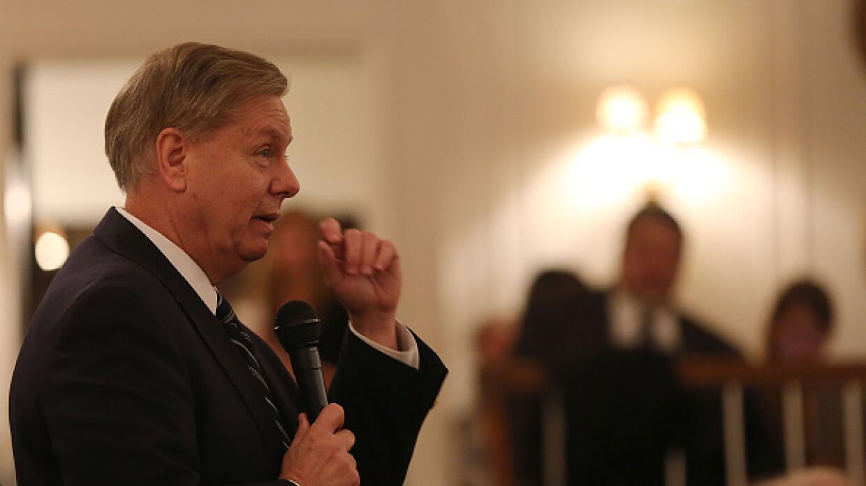 El senador Lindsey Graham ha sido el candidato más duro frente a ISIS