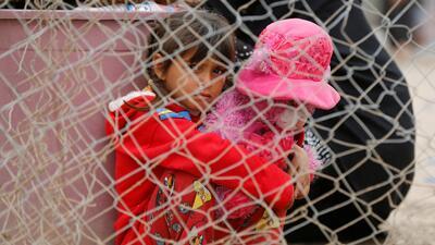 Los niños iraquíes que también huyen de la violencia del Estado Islámico