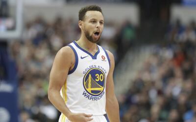 Curry ha estado impresionante luego de su lesión.