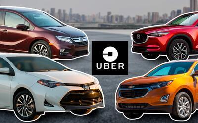 los autos para trabajar en uber