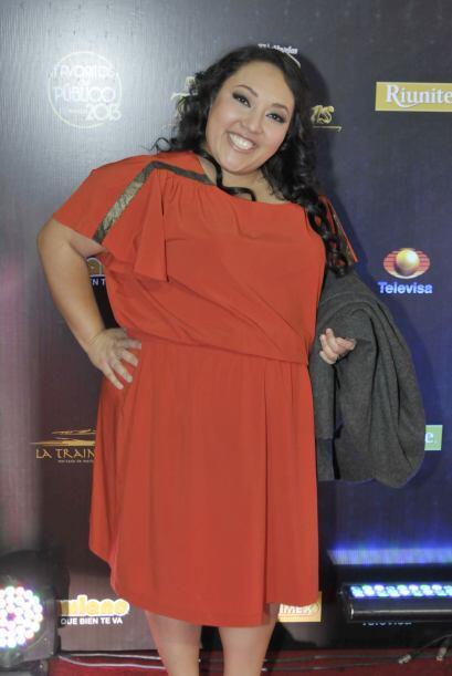 """Michelle Rodríguez, mejor conocida como """"Polita"""", fue de las más sonrien..."""