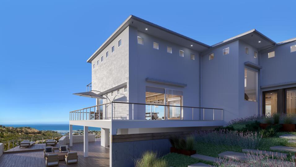 Castillo de Malibu vivienda
