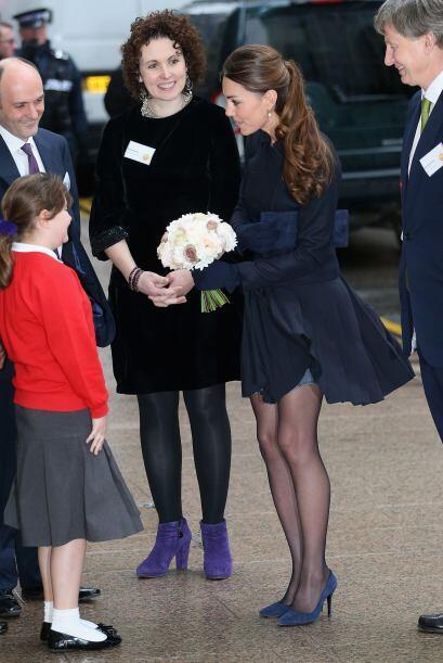 El viento nos ayudó a ver la estilizada figura de la duquesa.