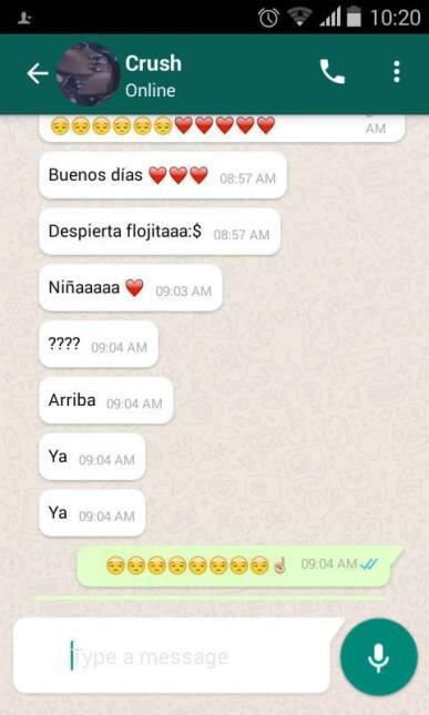 El romance de Eduardo y Tamara: lee el cuento de amor en WhatsApp que co...