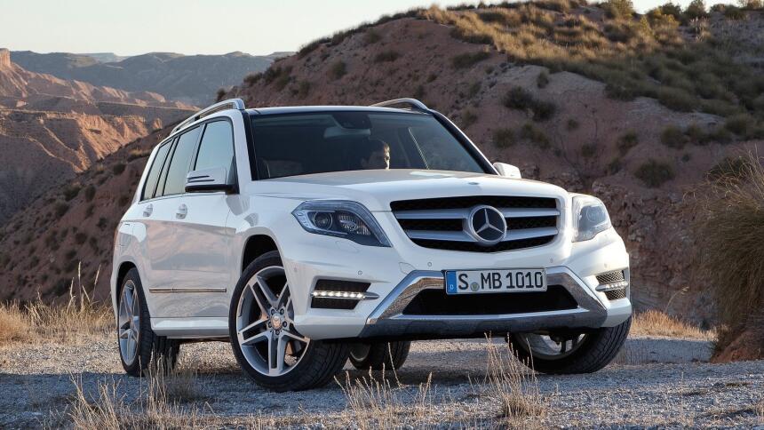 Estos son los autos más confiables de Estados Unidos Mercedes-Benz-GLK-C...