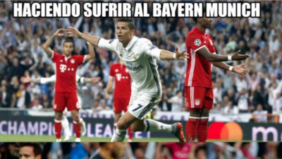 Cristiano le llenó la canasta al Atlético, y los memes también