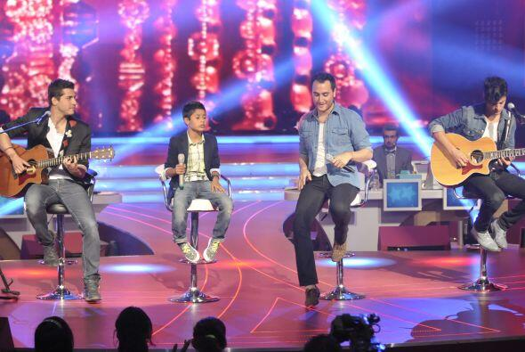 Mostraron tener gran química en el escenario.