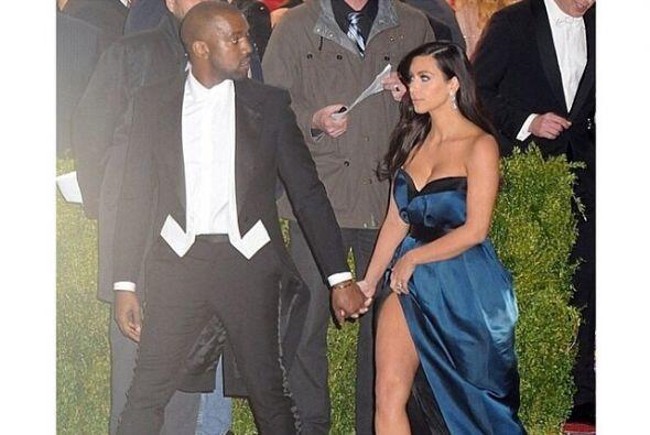 Pues el corte a la cadera le jugó una mala pasada a Kim.Mira aquí los vi...
