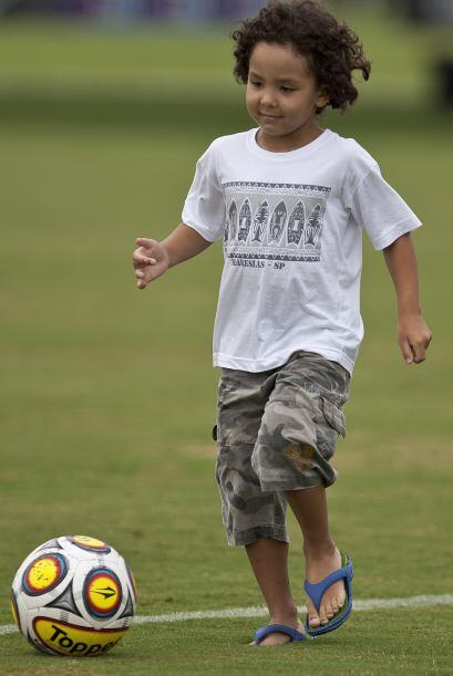 Esta hermosura de cinco años fue reconocida por Ronaldo en diciembre pas...