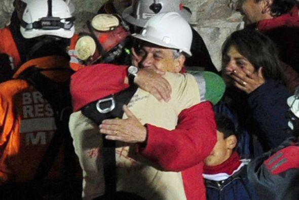 Florencio Avalos fue elegido por ser el más fuerte del grupo de 33 mineros.
