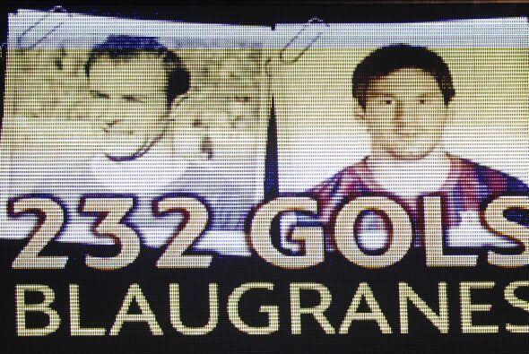 Un cuarto de hora ha tardado Messi ante el Granada en igualar la históri...