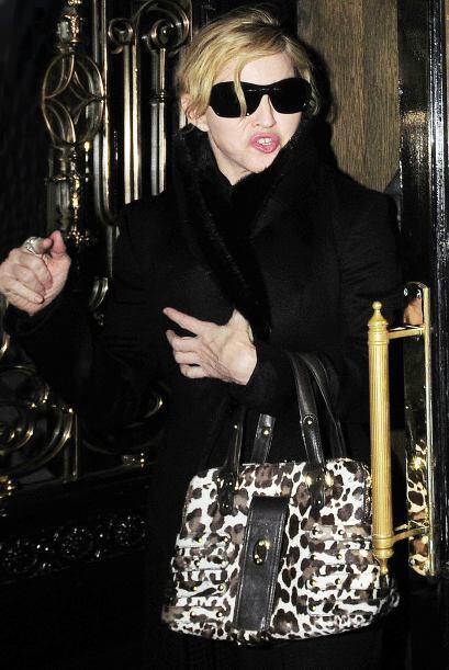 Madonna obviamente no podía faltar en esta lista de mujeres arriesgadas...