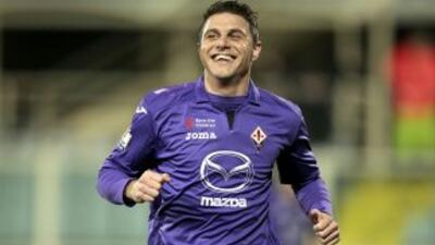 Joaquín hizo el primer gol del cuadro 'Viola'.