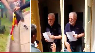 (Video) Mexicanos dan la cara y piden perdón a Cónsul de Alemania