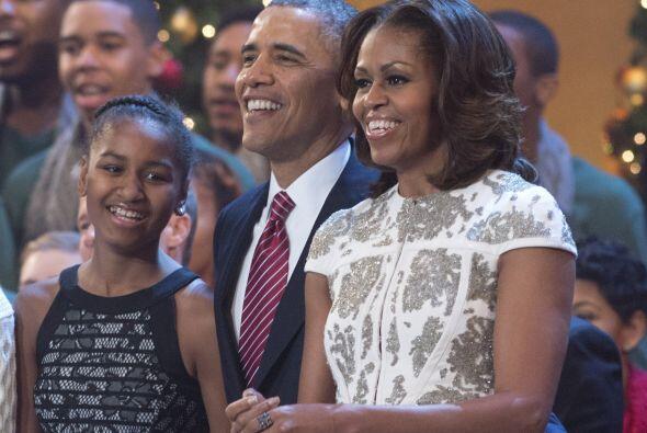 Michelle Obama asistió acompañada de su familia al concierto benéfico 'C...