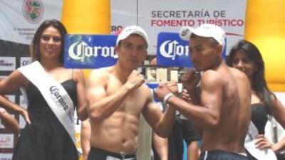 Cázares listo para su combate cntra García (Foto: Ko entertaiment)