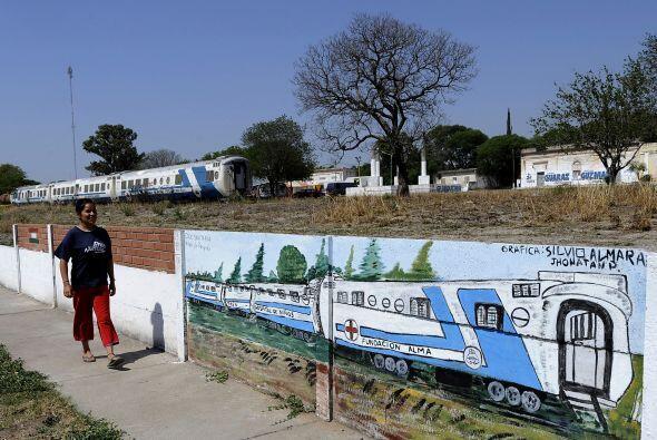 Sin embargo, ése no fue impedimento para que el tren llegara a su destin...