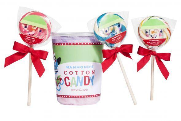 Si bien prefieres un regalo más sencillo pero genial, los dulces...