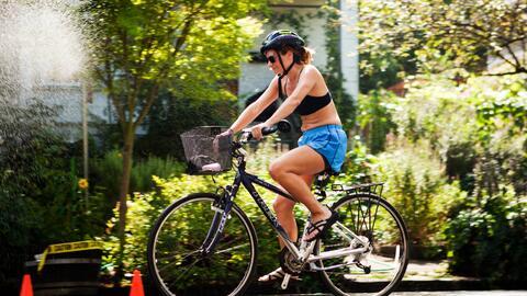 Portland, en Oregon, es la capital del ciclismo estadounidense.