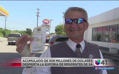 Mega Millions acumula 508 millones de dólares para el viernes
