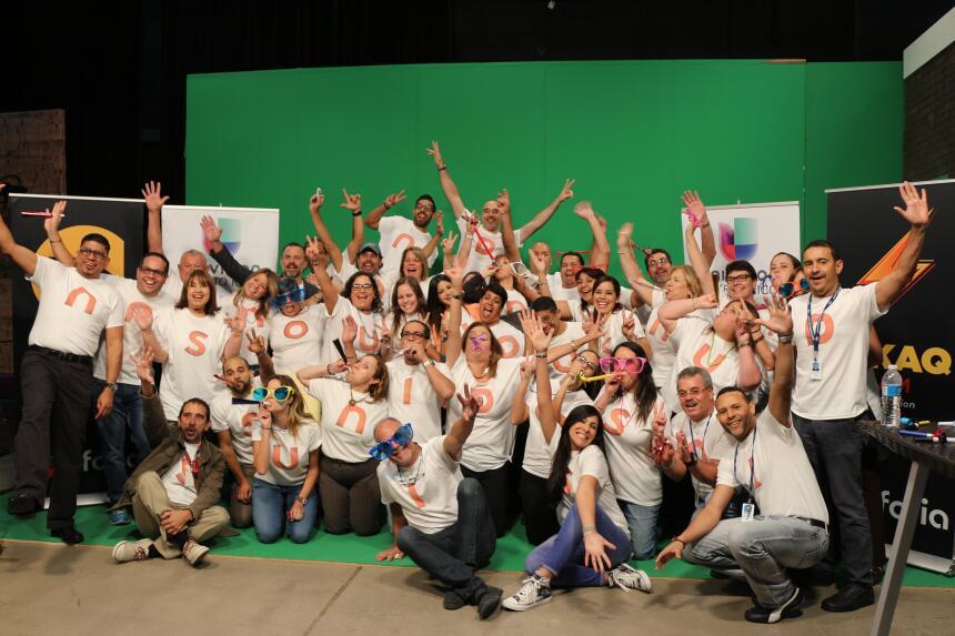 Empleados y talentos de Univision Puerto Rico formaron parte de la campaña.