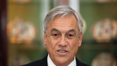 El expresidente Sebastián Piñera se enfrenta a un segundo...