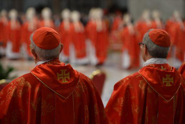 """""""Les exhorto (a los cardenales) a comportarse de manera digna, con..."""