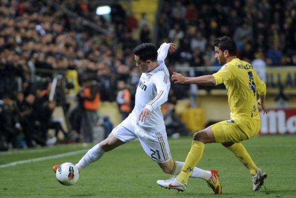 Todas las oportunidades de peligro eran en favor del Madrid, con un ampl...