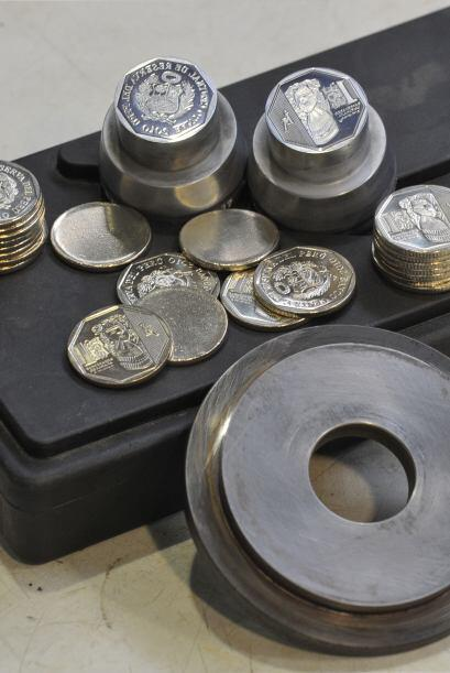 El Banco Central de Reserva del Perú acuñó y puso en circulación una nue...