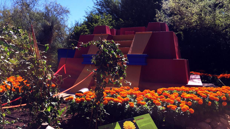 La 39 casa azul 39 de frida kahlo llega al jard n bot nico de for Casa jardin botanico