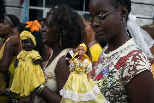 Las procesiones, vetadas en Cuba en la década de 1960, fueron restableci...