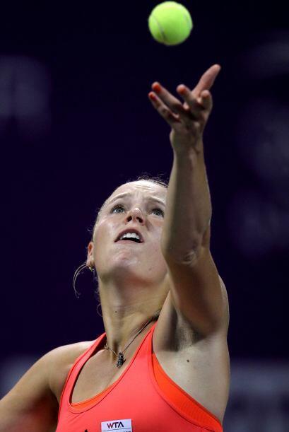 A la hora de jugar su partido en el Torneo de Doha, Wozniacki superó sin...