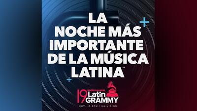 Los Latin GRAMMY se quedan en Univision hasta 2028
