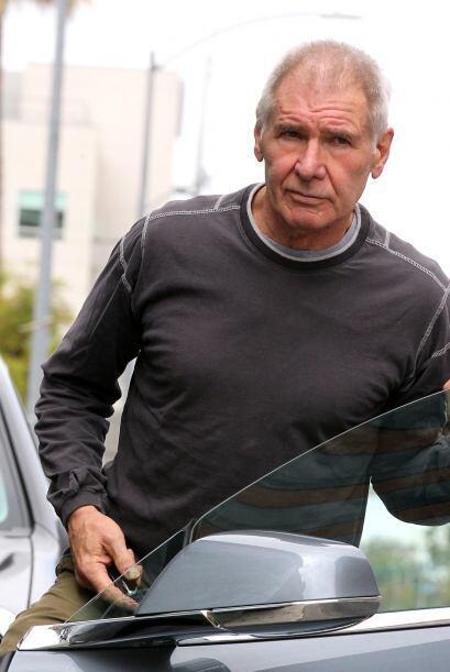 ¡Harrison Ford sigue en escena!