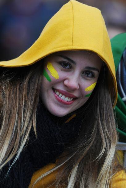Brasil, como siempre, no defraudó con sus bellezas.