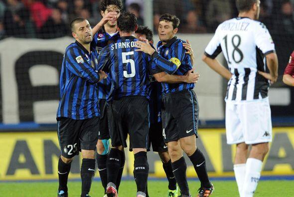 El Inter se encuentra en la décima quinta posición con 14...