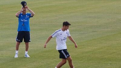 El técnico del Real Madrid elogió las cualidades del ahora delantero de...
