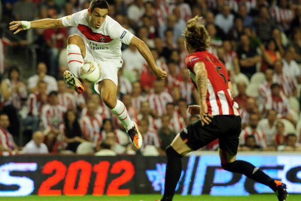 En España, el Athletic de Bilbao fue local ante el París Saint-Germain.