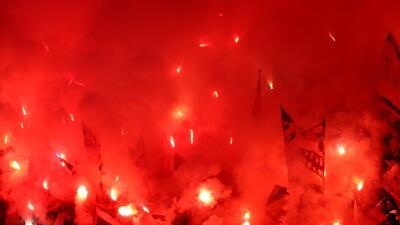 El Frente Atlético y los Ultras de Marsella convirtieron Lyon en un campo de batalla