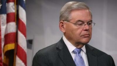 El senador Bob Menéndez, que enfrenta señalamientos por corrupción.
