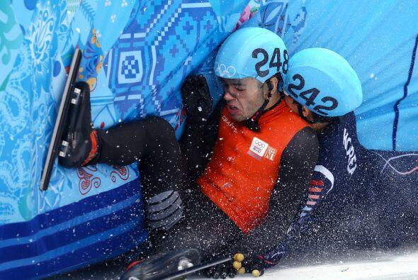 Varios atletas no pudieron superar las dificultades de las pruebas de So...