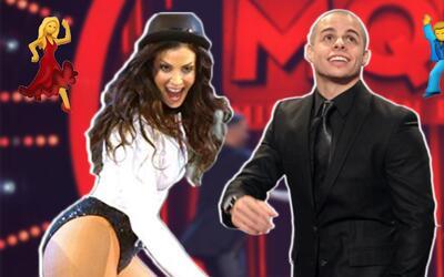 Dayanara Torres y Casper Smart bailaron al ritmo de un tema de Marc Anth...